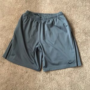 Gray Nike dri fit shorts! Size XL